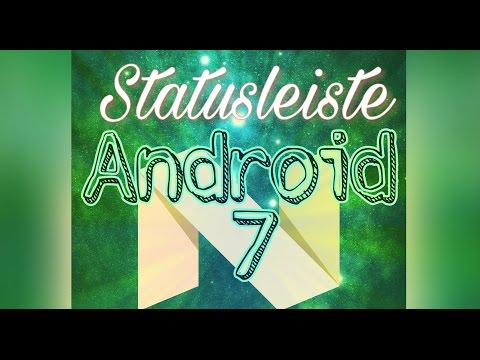 Android 7: Statusleiste Schnellzugriffe (Icons) Bearbeiten - Deutsch / German