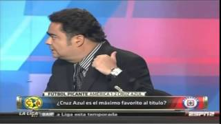 FutbolPicante, América 1-2 Cruz Azul, J14, C14, Estadio Azteca, 05Abril2014
