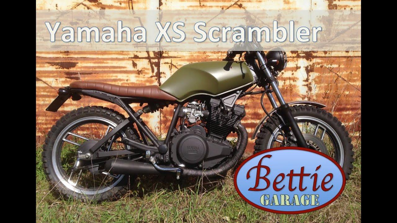 Moto Yamaha Xs 400 Trasformata In Scrambler