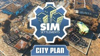 Sim Settlements Tutorial - City Plan Basics