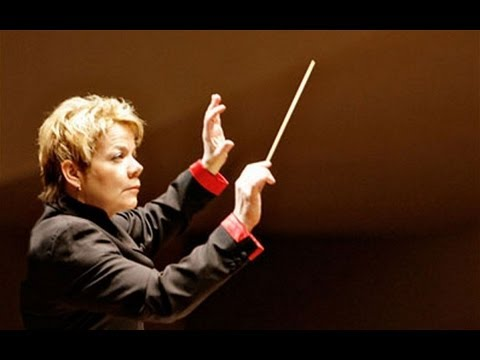 First woman to conduct Last Night of the Proms American Marin Alsop