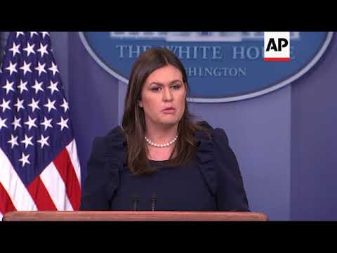 Sanders: WH Takes Domestic Violence 'Seriously'