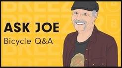Ask Joe Breeze! Bicycle Q & A