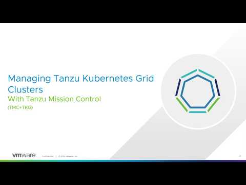 Managing Tanzu Kubernetes Grid Clusters with Tanzu Mission Control