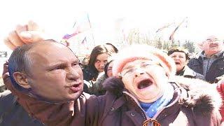 Путину Обещают Оторвать Голову в 2017 на Митингах протеста против коррупции