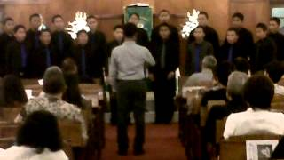 VOX ANGELICA MALE CHOIR - Manado di GPIB Paulus JKT 10/6/2012