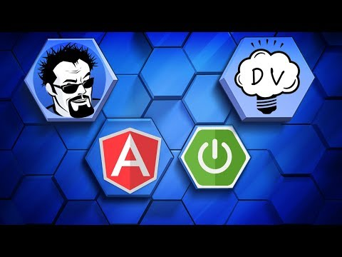 Angular 4 Java Developers - Creating the Spring Boot Application
