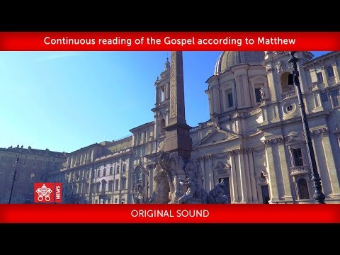 Continuous reading of the Gospel according to Matthew  2020-01-26