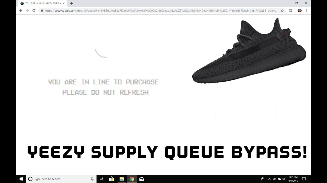 Yeezy Supply Bypass!