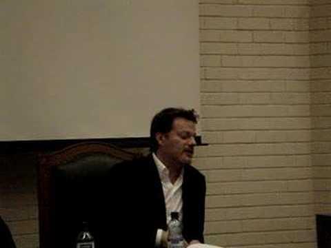 Eddie Izzard at UCD (Working with Ben Stiller)