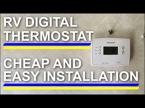 RV DIGITAL THERMOSTAT CHEAP AND EASY INSTALL! - YouTube on duo therm wiring schematics, duo therm ac parts, duo therm ac cover, 7 wire thermostat diagram, duo therm ac for rv, duo therm shroud, duo therm furnace manual, duo therm replacement parts, duo therm wall heater, rv air conditioner wiring diagram, duo therm air conditioner parts, rth111b wiring diagram, duo therm air conditioners manuals, duo therm brisk air, rth7600d wiring diagram, duo therm rv air conditioner, ac thermostat diagram, car audio speaker wiring diagram, duo therm rv furnace gas valve, duo therm rv ac problems,