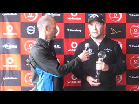 Branden Grace interview at The Links Fancourt