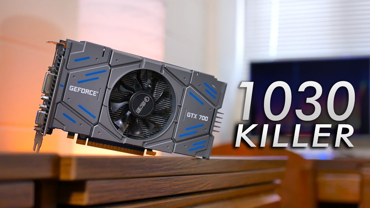 The GT 1030 is Now $100 - Here's a NEW $70 Alternative!   OzTalksHW