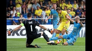 ASTANA VS VILLARREAL 2 - 3, All goals and highlight 23-11-2017 HD