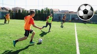 MECI DE FOTBAL VS ADULTI ! (in echipa cu profesorul de sport)