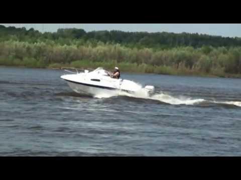 Стеклопластиковый катер Посейдон 570. Boat Poseidon-570