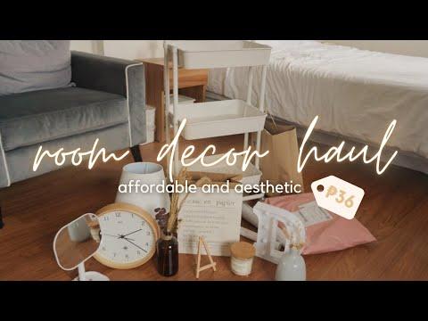affordable-room-decor-haul-🌿🖼-shopee,-lazada,-sm
