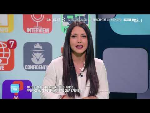 Sonia Carneiro et Flora Moussy sur RMC Sports 1 dans Breaking Sports 31052019