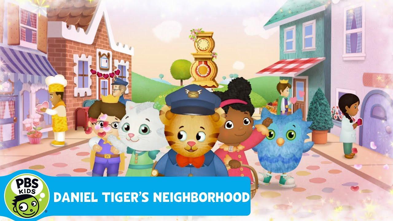 daniel tigers neighborhood love i love you pbs