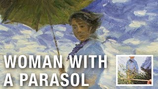Woman with a Parasol - Claude Oscar Monet | Oil Painting Reproduction on Canvas