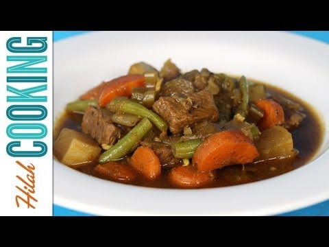 How to Make Vegetable Beef Stew | Hilah Cooking