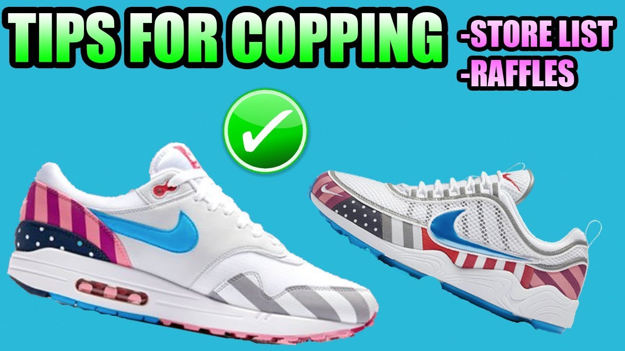 bbfb71e741f1 Tips For Copping The PARRA X NIKE Air Max 1 + Air Zoom Spiridon ...