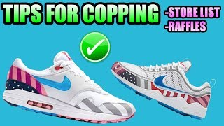 Tips For Copping The PARRA X NIKE Air Max 1 + Air Zoom Spiridon !   PARRA X NIKE Raffles + Stores