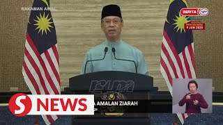 Muhyiddin's Raya message: Greater responsibility to end conditional MCO