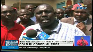 Middle-aged couple brutally killed in Litein, Kericho county