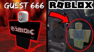 4 Seriously Creepy Roblox Sightings! (John Doe/Guest 666/1X1X1X1/Ghost)