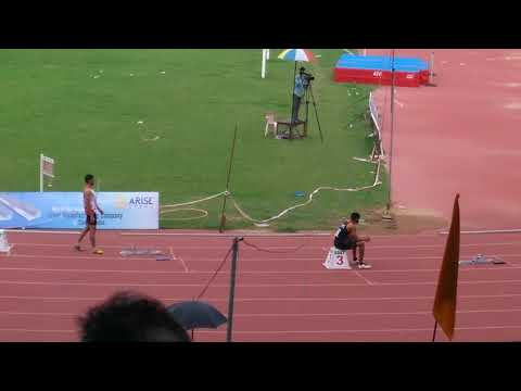 4×100m men final open national meet in chennai 2017