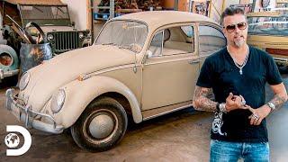 ¿Cuántos hombres entran en un VW Escarabajo? | El Dúo mecánico | Discovery Latinoamérica