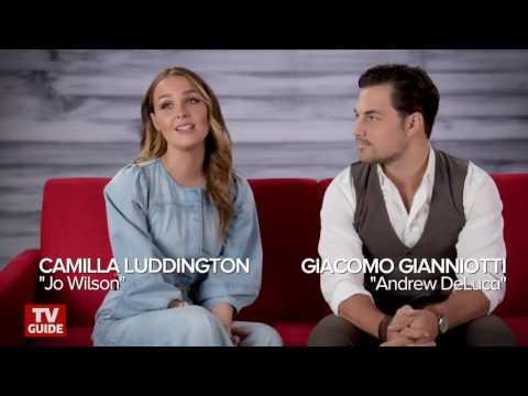Grey's Anatomy's Camilla Luddington and Giacomo Gianniotti talk about joluca
