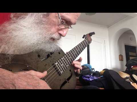 Slide Guitar Blues Lesson In Open D. You Gotta Move In Open D On My National Steel Resonator!