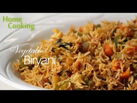 Vegetable Biryani Recipe Ventuno Home Cooking Youtube