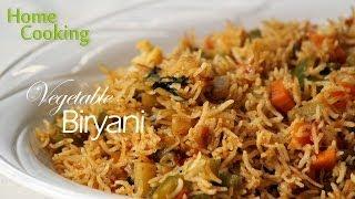 vegetable biryani recipe ventuno home cooking