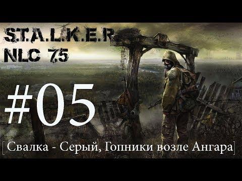 S.T.A.L.K.E.R. NLC 7.5 Я - Меченный #05. [Свалка - Серый, Гопники возле Ангара]