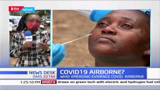 WHO: Emerging evidence that coronavirus is airborne