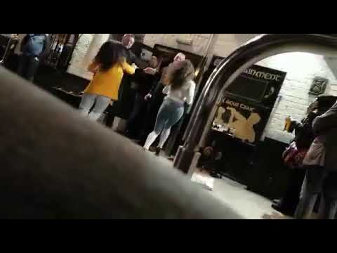 Belfast women fighting with bouncers