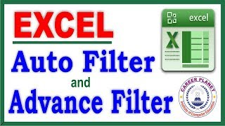 Excel Advance Filter and Auto Filter with Example Part 5| Learn Excel