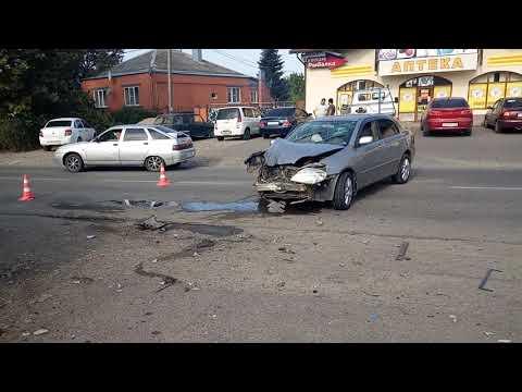 Курганинск ДТП ул.Комсомольская часть 2