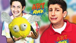 El Presentador de ART ATTACK Califica MIS MANUALIDADES!!!