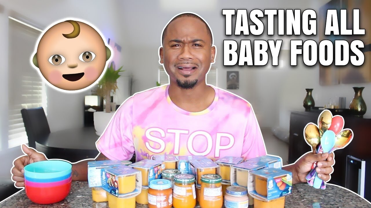 Tasting DISGUSTING BABY FOOD For The First Time | TASTE TEST | Alonzo Lerone