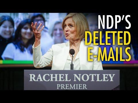 AB Privacy Commissioner investigating deleted govt emails