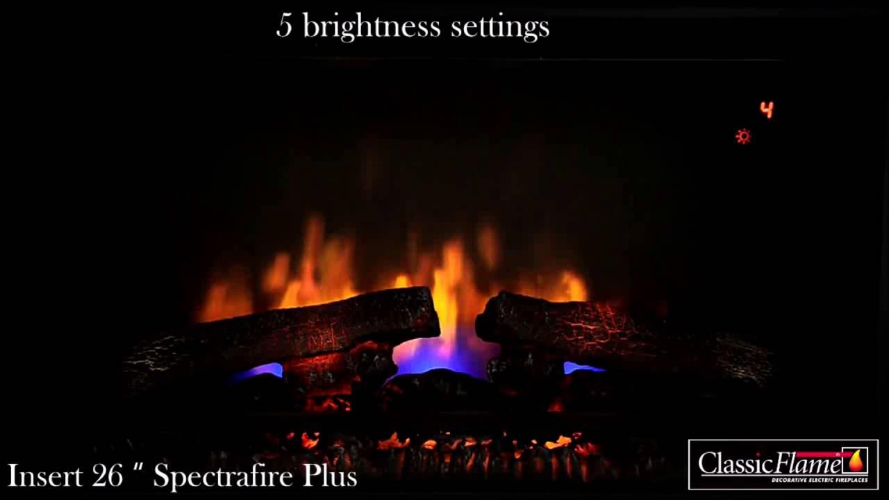 ClassicFlame 26IIU310GRA 26 Infrared Spectrafire Plus Inset