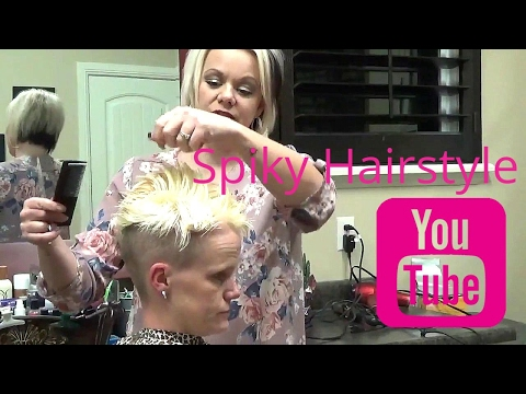 How to Cut (Short Spikey Hairstyles) for Women - Short Spiky Haircuts
