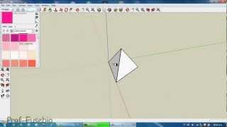 Como hacer un Tetraedro en googlesketchUp