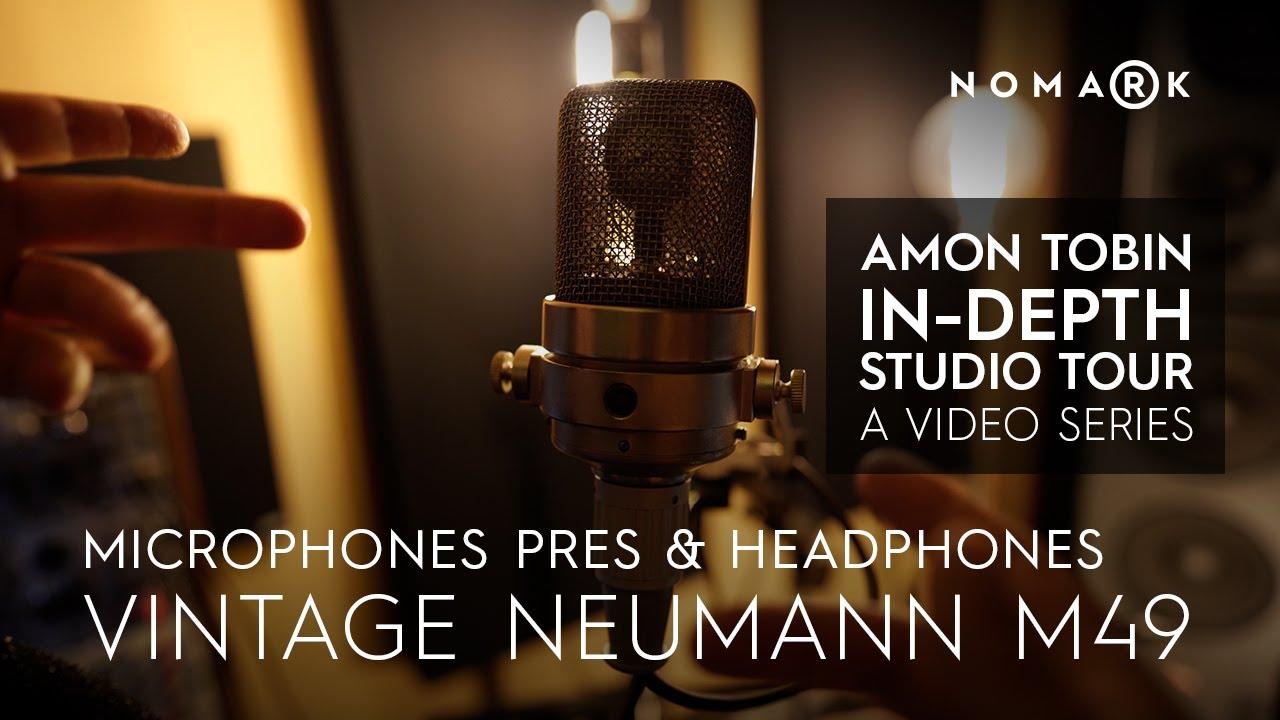 Amon Tobin Studio Tour Episode Three: Mics, Pres, Phones, and Amps