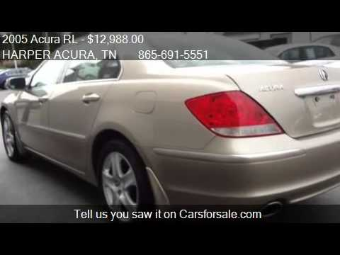 2005 acura rl w navigation for sale in knoxville tn 3792 youtube. Black Bedroom Furniture Sets. Home Design Ideas