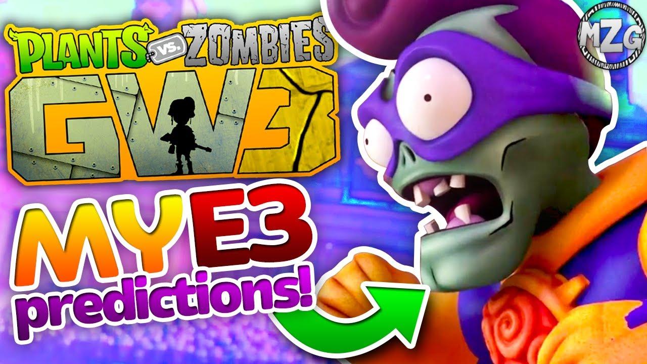 will garden warfare 3 be announced tomorrow my e3 predictions plants vs zombies garden warfare - Pvz Garden Warfare 3